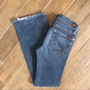 Girls 7 For All Mankind Jeans- size 8